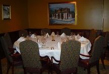 Private Dining / We have 5 private dining rooms for 6 - 200 people.