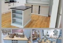 Painted Kitchen Dressers / If your looking for a quality painted kitchen dresser, look no further!