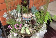 Love To Garden / I love to garden and to do that and recycle at the same time...perfect!