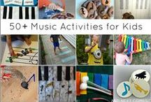 Children's Music Activities / How to make your own instruments and developmentally appropriate activities that involve music and movement for young children