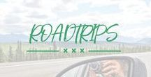 Reisen Roadtrips / Die zweitschönste Art zu reisen (nach dem Wandern):  Reiseinspiration und Tipps für Roadtrips im Mietwagen oder Campervan
