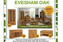 Devonshire Oak & Pine Evesham Range / Evesham Oak Collection