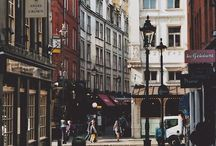 Favourite places / My favourite places, mostly London and New York