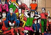 Is art art? / pop art, modern art, street art / by Jon Sinclair