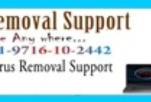 Remote virus removal  / Remotely remove deeply rooted viruses,  spyware and other dangerous malware.