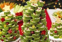 CHRISTMAS PARTY FOODS / by JANE MARCOTTE