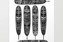 Feather Art