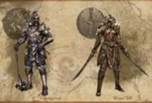 Concept Art / Collection from game concept art