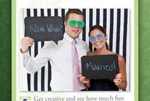 Photo-booth Fun / Photo booths can create and capture lasting memories on your big day. Here are some fun ideas....