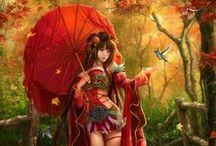 fantasy / rysunki typu fantasy i nie tylko