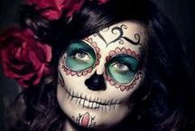 Sugar skull Make up Halloween
