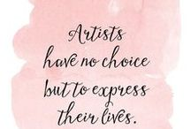 Art Quotes / #quotes, #artist, #sentences, #famousartist, #art