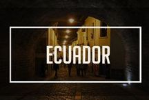 The Ecuador Project / From Galápagos to the middle of the world in Quito, this amazing country has many things to offer.