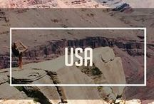 The USA Project / With a country of 50 states, we have a lot of ground to cover. Here' the tip of the iceberg of our bucket list!