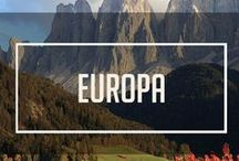 The Europe Project / Just a matter of time before we're buying as Eurail Pass and checking these off our list