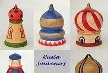 DEDALES DE SOUVENIRS DE RUSIA