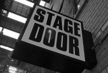 Stage Door / Pictures of Theaters from all over the world.  From big to small, elaborate to simple.  The places that foster and inspire art.