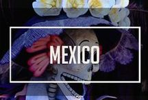 The Mexico Project / Saved places we've been, and pins of travel tips and pics of where we plan to go next!