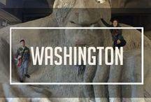 Washington, USA / Backpacking the USA East Coast