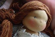 poupées en chiffon