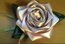 kwiaty z papieru i tkaniny