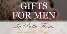 Gifts For Men / Gifts for men that will surely impress. Find unique ideas and luxurious pieces for the special men in your life from cufflinks, wallets, briefcases, scarves, and shaving kits. Perfect for holidays, birthdays, anniversaries, corporate gifts, and more. Follow La Bella Fiona on Pinterest.