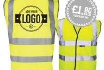 Screen Printed Hi Vis Offers / Logos Unlimited high visibility Vests Offers are essential for anyone working outdoors, especially in dangerous areas like roadsides or on construction sites and with your company's, logo or business name on, it helps your business stand out!