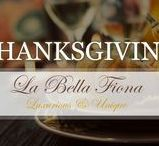 Thanksgiving / Thanksgiving is a special time to decorate your home in Fall's best colors and scents. Follow our board for every luxurious detail from the decor to the food for this favorite holiday. Visit labellafiona.com for great holiday decor.