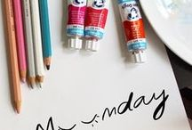Little Diary - Anna Ostapowicz / illustrated diary, illustrated blog