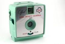 Vintage Cameras and Camera Gear / vintage cameras, camera gear, photography / by Sweet Eventide Photography