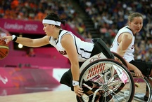 Athletes in Motion / Images of athletes with different abilities including wheelchair athletes and other athletes who play their own game their own way