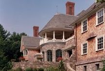 New England Estate, 2007 / Renovation / Addition to a shingle style house in New England.