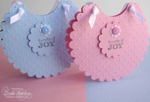 Cards - Baby - Boy or Girl - Die Cut  & Embossing / by Kim Veevek