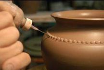 clay, pottery / by Anahit Karakhanyan