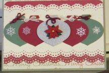 Cards - Christmas - Decorations / by Kim Veevek