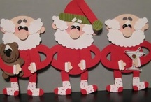 Cards - Christmas - Punch Art - Santa, Reindeer, Elfs & Stockings / by Kim Veevek