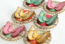 Cards - Butterflies - Miscellaneous / by Kim Veevek