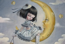Mystical: Stella and Luna  / Everyone is looking for the sun that lights up thier life, but I am looking for my moon, someone to shine on me during my darkest hours....  / by Amanda Sah