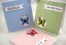 Cards - Butterflies - Die Cuts & Embossing  / by Kim Veevek