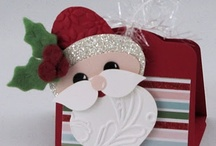 Cards - Christmas - Gift Boxes & Pouches  / by Kim Veevek