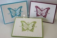 Cards - Butterflies - Die Cuts & Embossing ( SU ) / by Kim Veevek