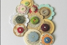 Cards - Buttons / Ribbon / Lace  & Beads - Misc Items / by Kim Veevek