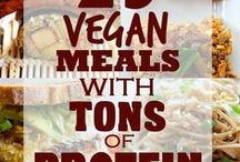 Good Eats: Vegan and Vegetarian Ideas / by Victoria Richards