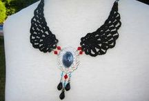 crochet jewelry / by Hansína Hafsteinsdóttir