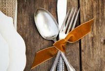 Thanksgiving Ideas / Thanksgiving recipes, table settings, ideas and inspiration. / by Sweet Eventide Photography
