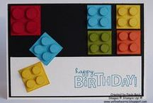 Cards - Children & Youth - Lego Theme / by Kim Veevek