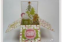 Cards - Card In A Box - Christmas / by Kim Veevek