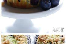 Sweets and avocado cakes / Dolci a base di avocado