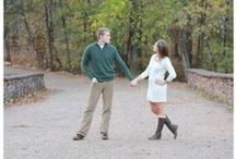 Green and Cream Wood Engagement Inspiration