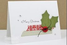Cards - Christmas - Holly & Pointsettia / by Kim Veevek